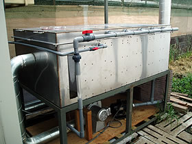 オゾン脱臭システムの設置事例