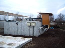 阿部産業方式 浄化槽設置例